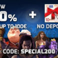Register today at www.lapalingo.com and get 200% on your first deposit! As a gift we give you 10€ no deposit to enjoy slots of your choice. How to get the […]